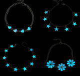 Glow In The Dark Charm Bracelets