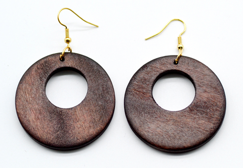African Handmade Eardrop earrings - 1 Pair