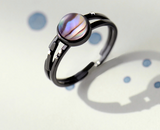 Stars Trail Gemstone Ring