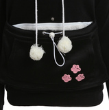 Cat Lover Hoodie Pouch