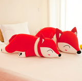 Soft Plush Fox Pillow