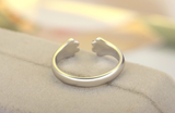 Cat claw wrap ring