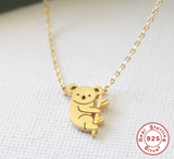 Koala Tiny Chain Necklace