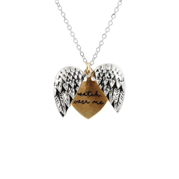 Watch Over Me Angel Necklace