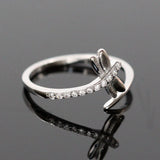 Zircon Dragonfly Ring