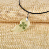 Matching Clover Luminous Necklace