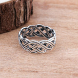 Infinity Celtic Knot Ring