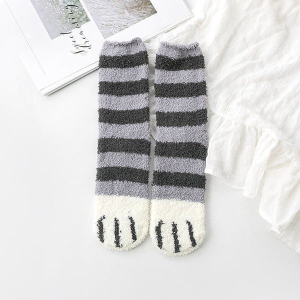 Fluffy Fuzzy Slipper Socks
