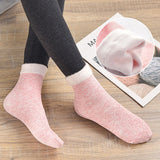 Cotton Plus Velvet Breathable Socks