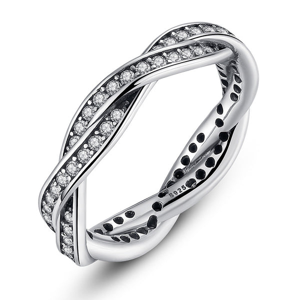 Braided Twist of Fate Ring
