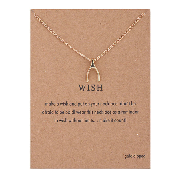 Wish Bone Necklace