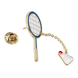 Badminton Brooch Pins Jewelry
