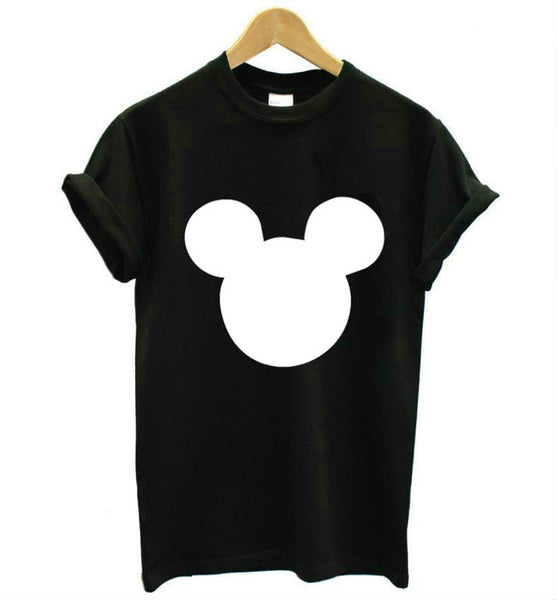 Mouse Head Printed Tee