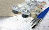Romantic Lover DIY-Van-Go-Paint-by-Number Kit