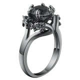 Dragoon™ Black Gold Filled Ring