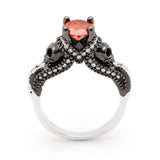 Ghostly™ Skull Ring