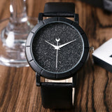 Moon Stars Design Analog Watch For Women
