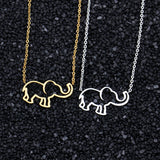 Elephant Pendant Necklaces