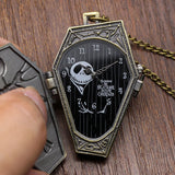 Nightmare Before Christmas Stainless Steel Pocket Watch