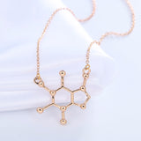 Caffeine Molecular Necklace