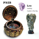 Zodiac 12 Signs LED Lights Musical Box - Castle In The Sky