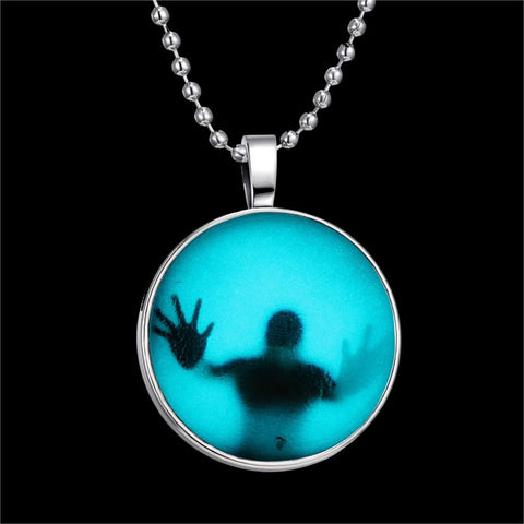 Glow In The Dark Pendant Necklaces