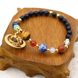 9 Planets Solar System Stone Beads - Limited Edition
