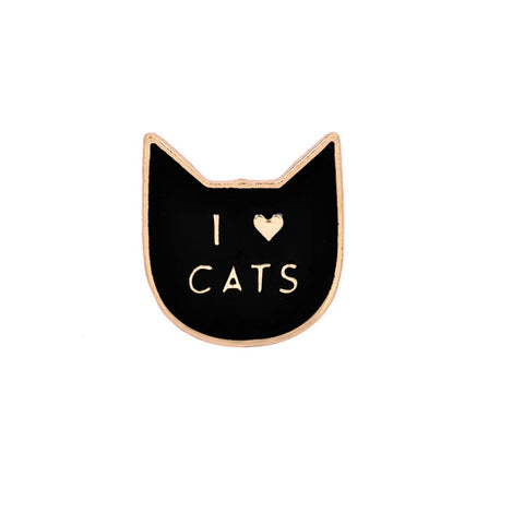 I Love Cats Pin - Introverts