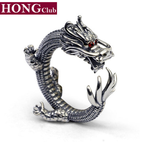 Cubic Zirconia Dragon Ring