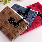 Cute Kitten Face Towel