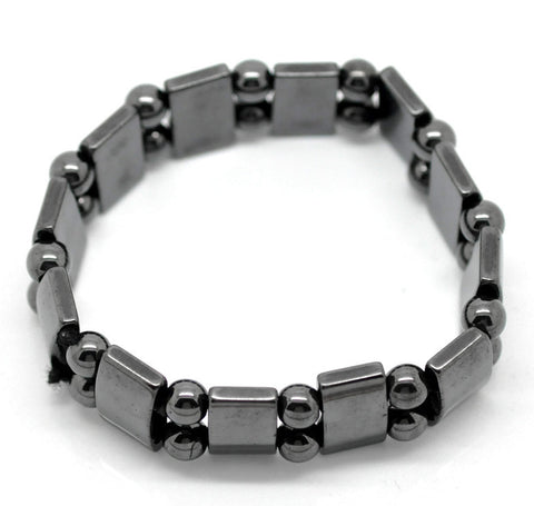 Magnetic Hematite Beads Braclets