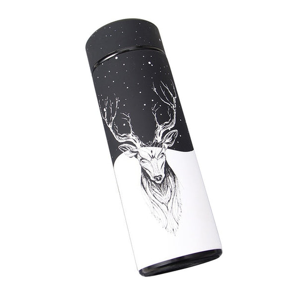 Reindeer Thermos Flask - Stainless Steel