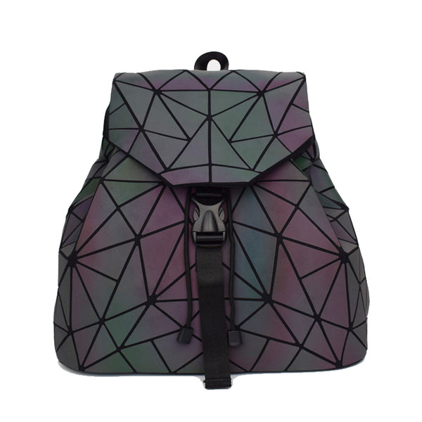 Geometric Holographic Backpack - FREE WORLDWIDE SHIPPING