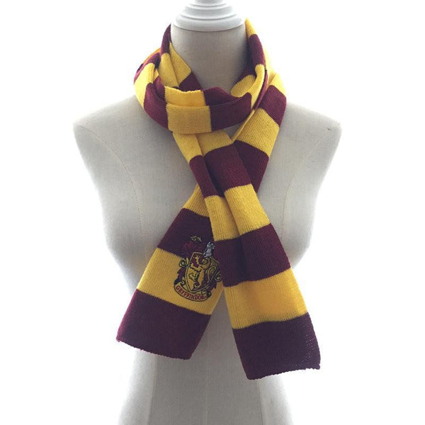 Harry Potter House Knit Wool Scarf