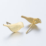 Classic Bird Stud Earrings