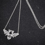 Save The Bees - Origami Bee Necklace