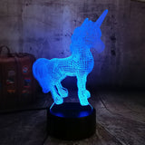 Unicorn Night Light Lamp