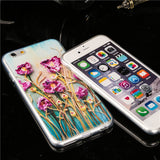 Watercolour Drawing Soft TPU iPhone Protection Cases