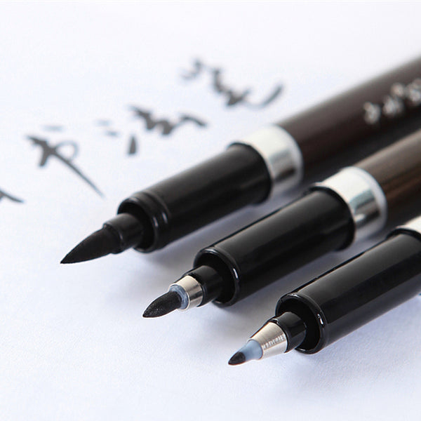 Japanese Calligraphy Pen - 3 pcs/Lot