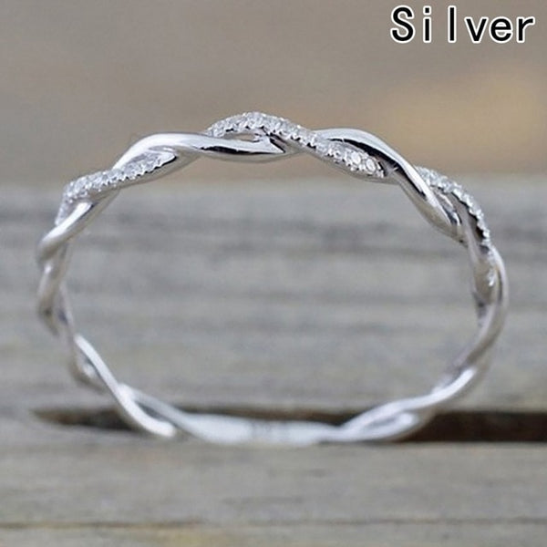 Twisty Rope Ring