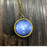 Glass Dome Solar System Pendant