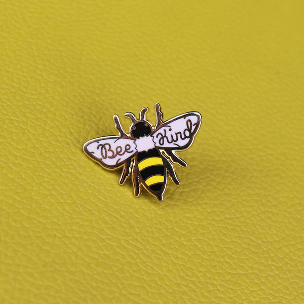 Save The Bees -  Bee Kind Brooch Pin