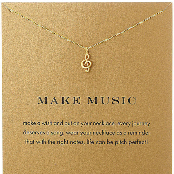 Make Music Necklace