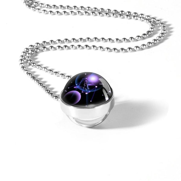 Galaxy Constellation Horoscope Necklace