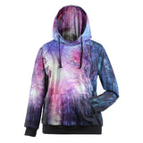 Unique Galaxy Star Print Hoodies