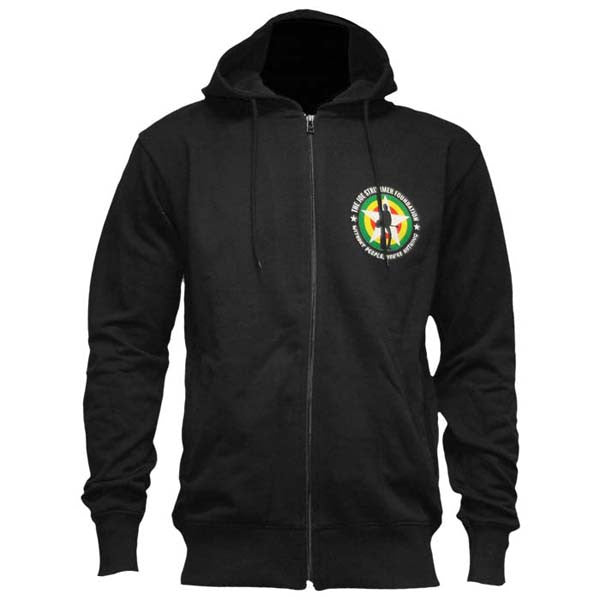 Without People You're Nothing Black Zip Hoody