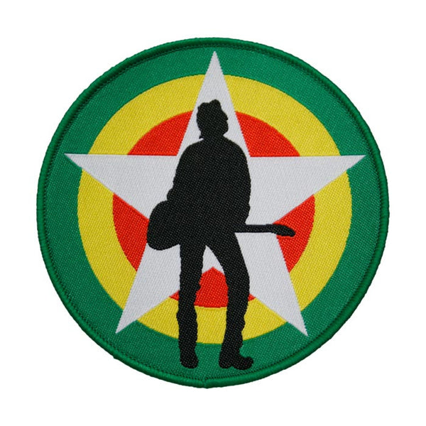 JOE STRUMMER FOUNDATION LOGO PATCH