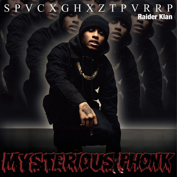 SPACEGHOSTPURRP 'MYSTERIOUS PHONK: THE CHRONICLES OF SPACEGHOSTPURRP' LP