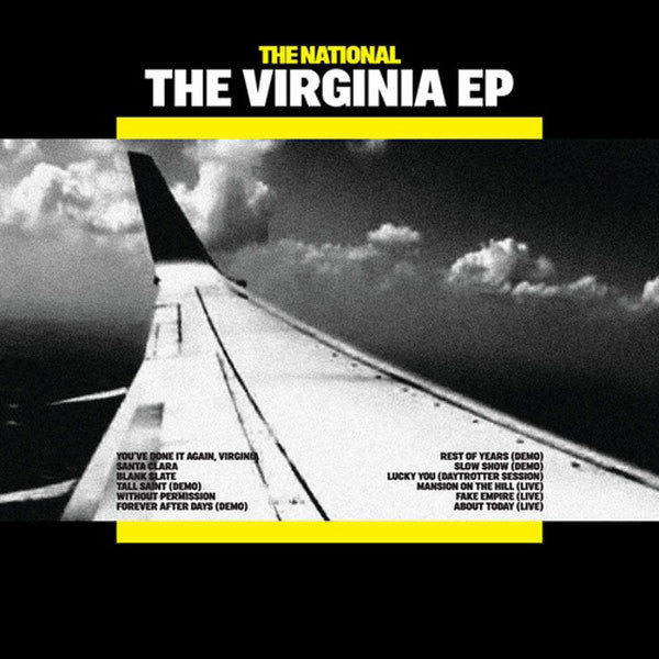 THE NATIONAL THE VIRGINIA EP - 12 inch VINYL