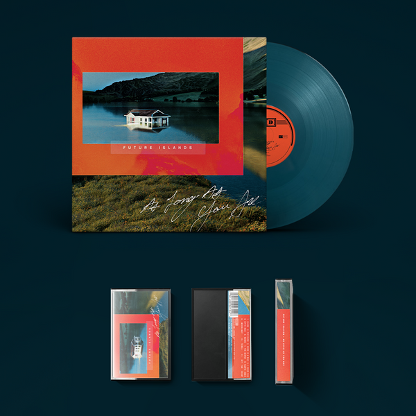 Future Islands - As Long As You Are - Petrol blue LP & cassette bundle
